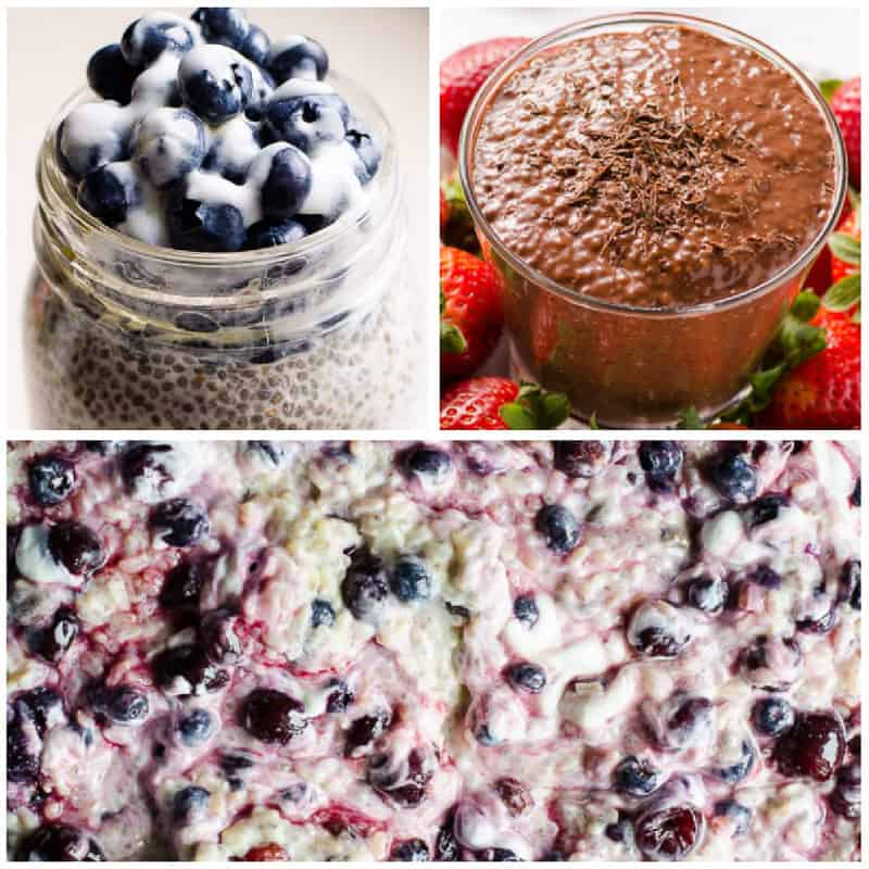 chia pudding for low calorie breakfast