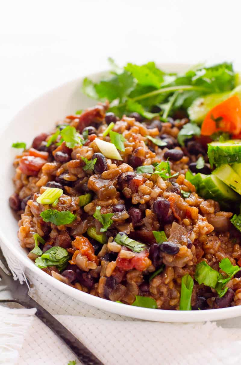 Instant Pot Rice And Beans Dried No Soaking Ifoodreal Com