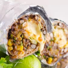 instant pot chicken burritos