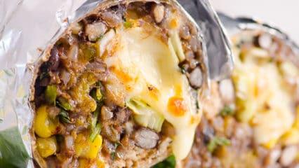 Chicken Burrito (Video)