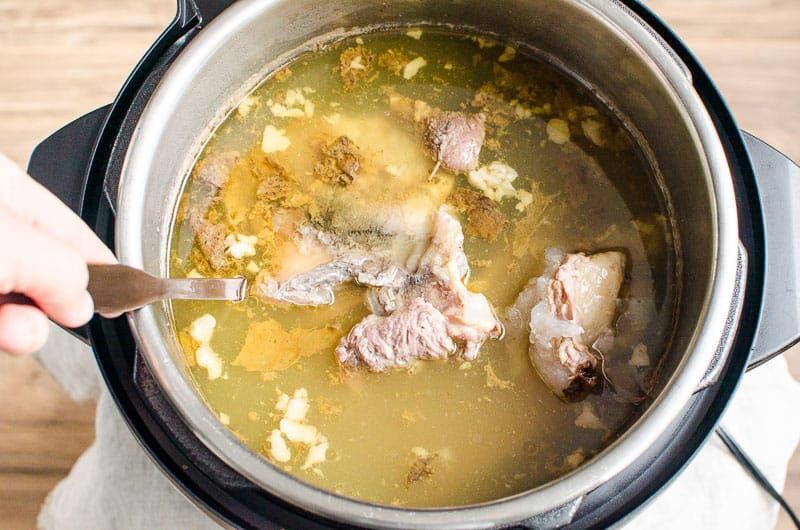 bone broth in instant pot