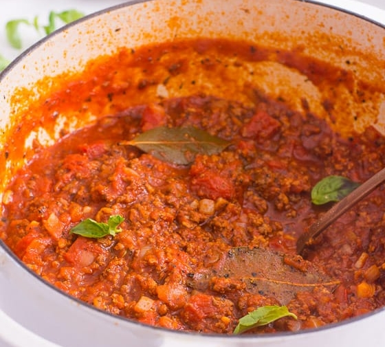 Homemade Meat Sauce (Video)