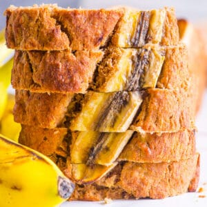 Healthy Banana Bread (Video)