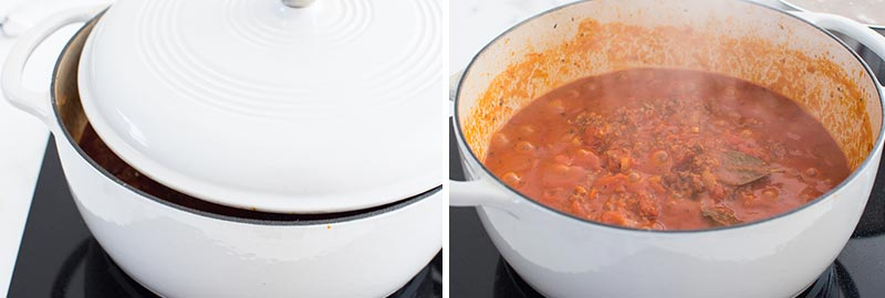 how to thicken homemade meat sauce