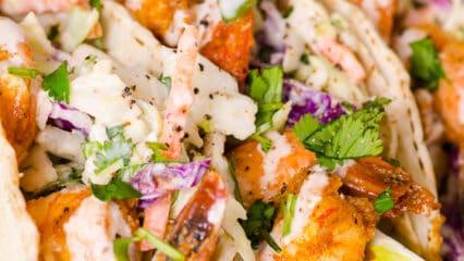 Shrimp Tacos (Video)