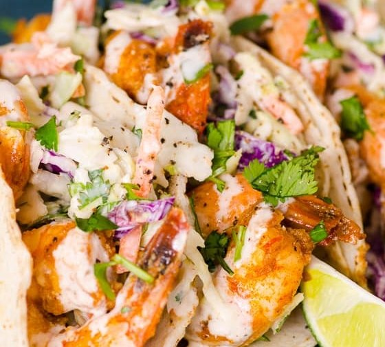Shrimp Tacos (Video)