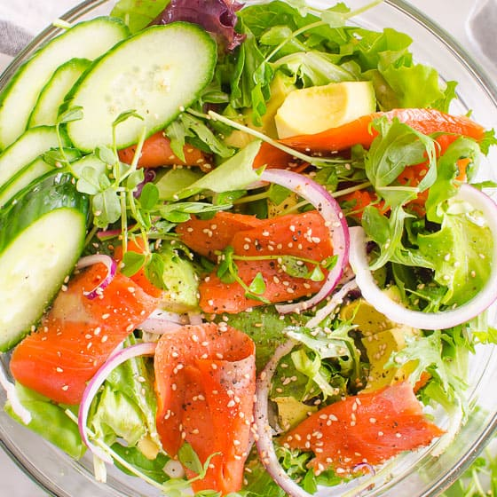 Smoked Salmon Salad Ifoodreal,Coin Dealers Near Me