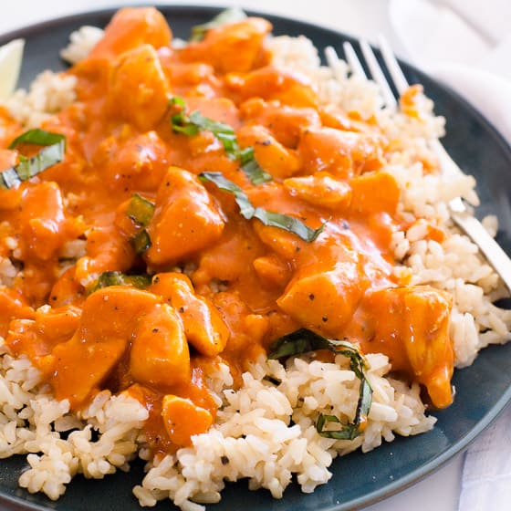 Thai Chicken Curry 30 Minutes Ifoodreal Com