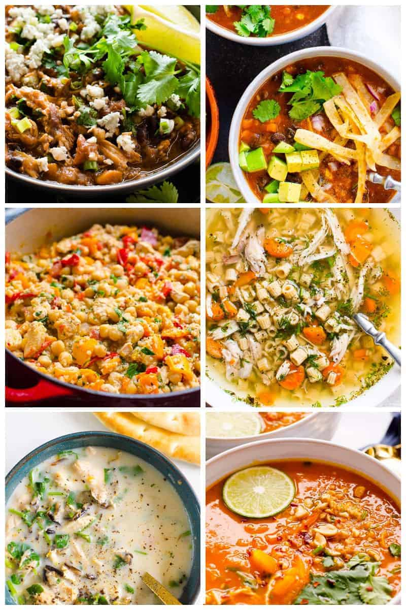 quick and easy healthy chicken recipes - soup and stew