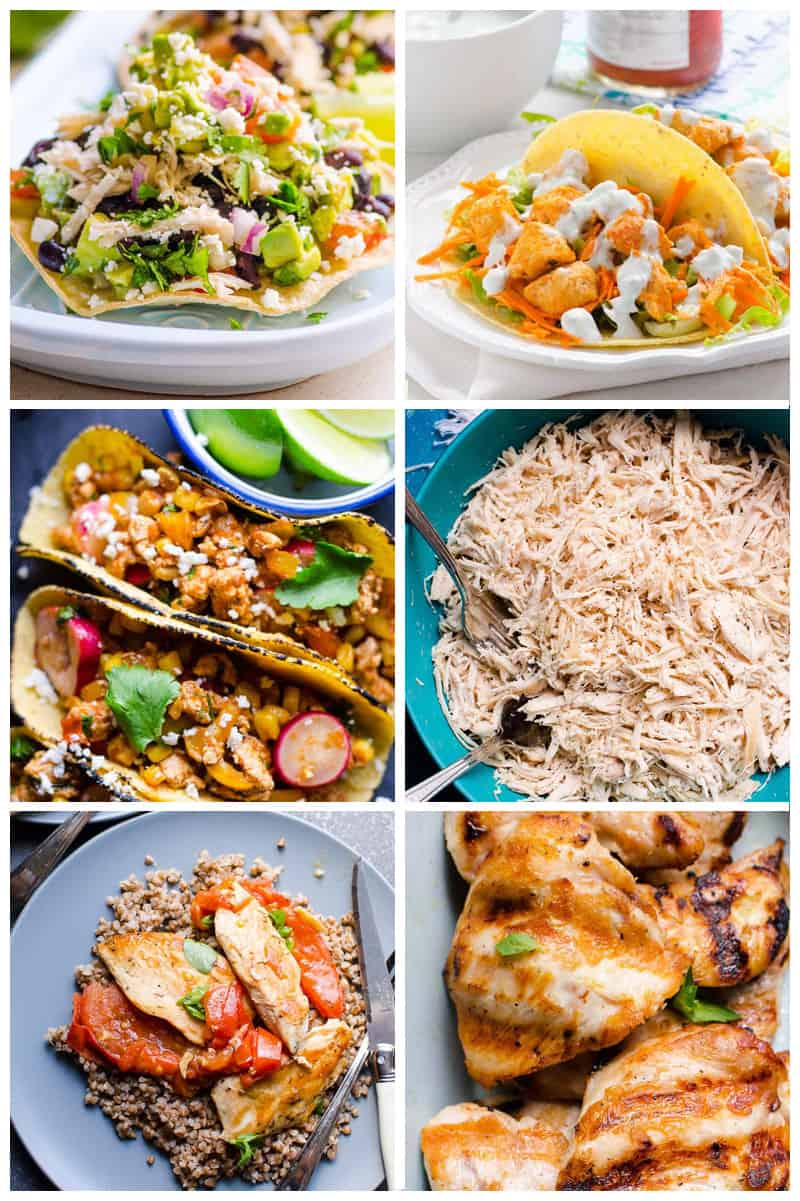 quick and easy healthy chicken breast recipes