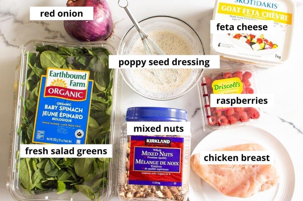 grilled chicken salad ingredients