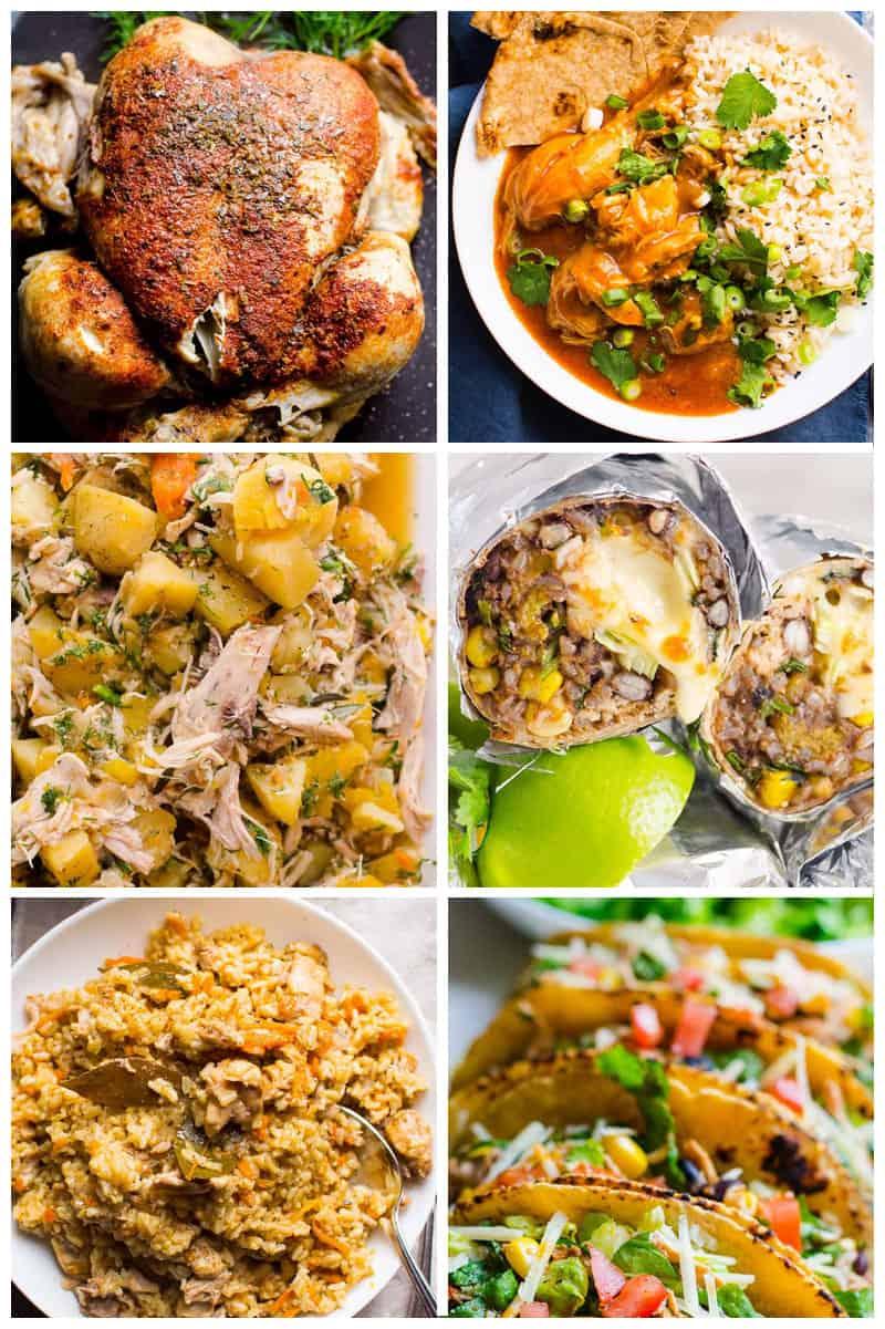 instant pot chicken recipes healthy