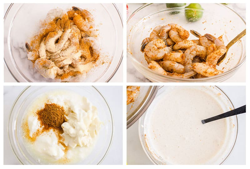 how to make shrimp seasoning and sauce