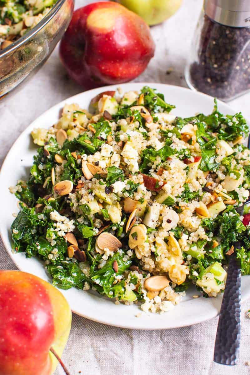 Ensalada De Quinoa Kale