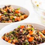 quinoa black bean