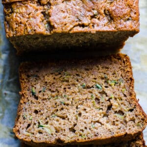 Healthy Zucchini Bread (Video)