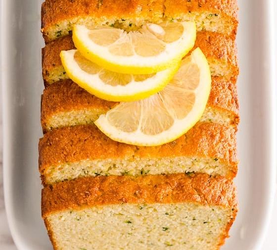 Healthy Lemon Zucchini Bread