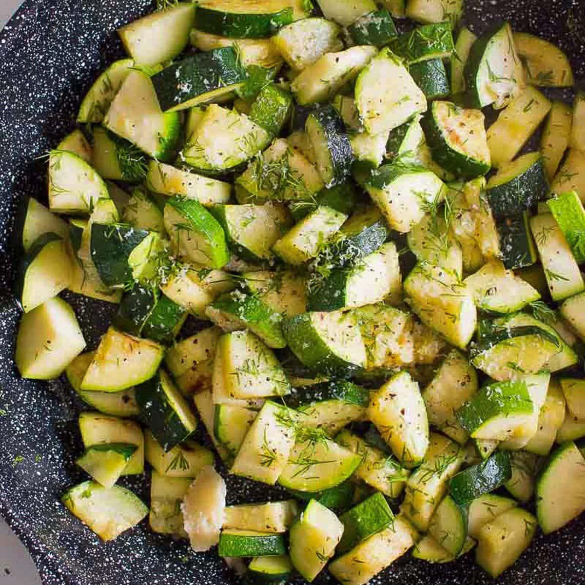 Sauteed Zucchini (5 Minutes)
