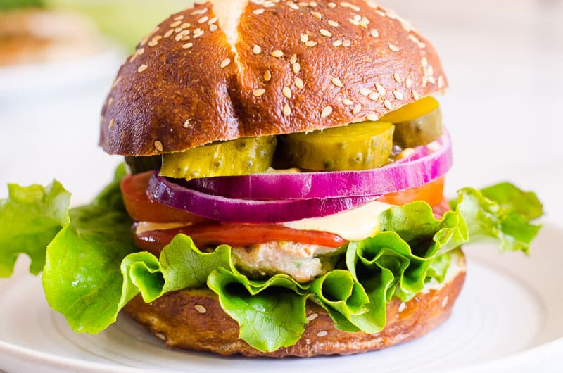 5 Ways to Make Kids Eat Healthy- healthy turkey burger
