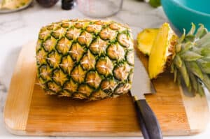 how to clean pineapple step by step