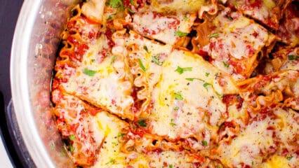 Instant Pot Lasagna (Video)