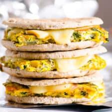 heathy breakfast sandwich