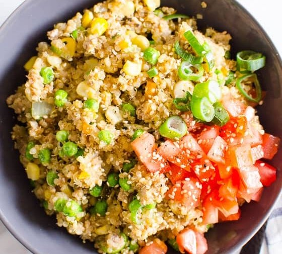 Instant Pot Ground Turkey Quinoa Bowls