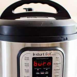 Why Does My Instant Pot Say Burn?