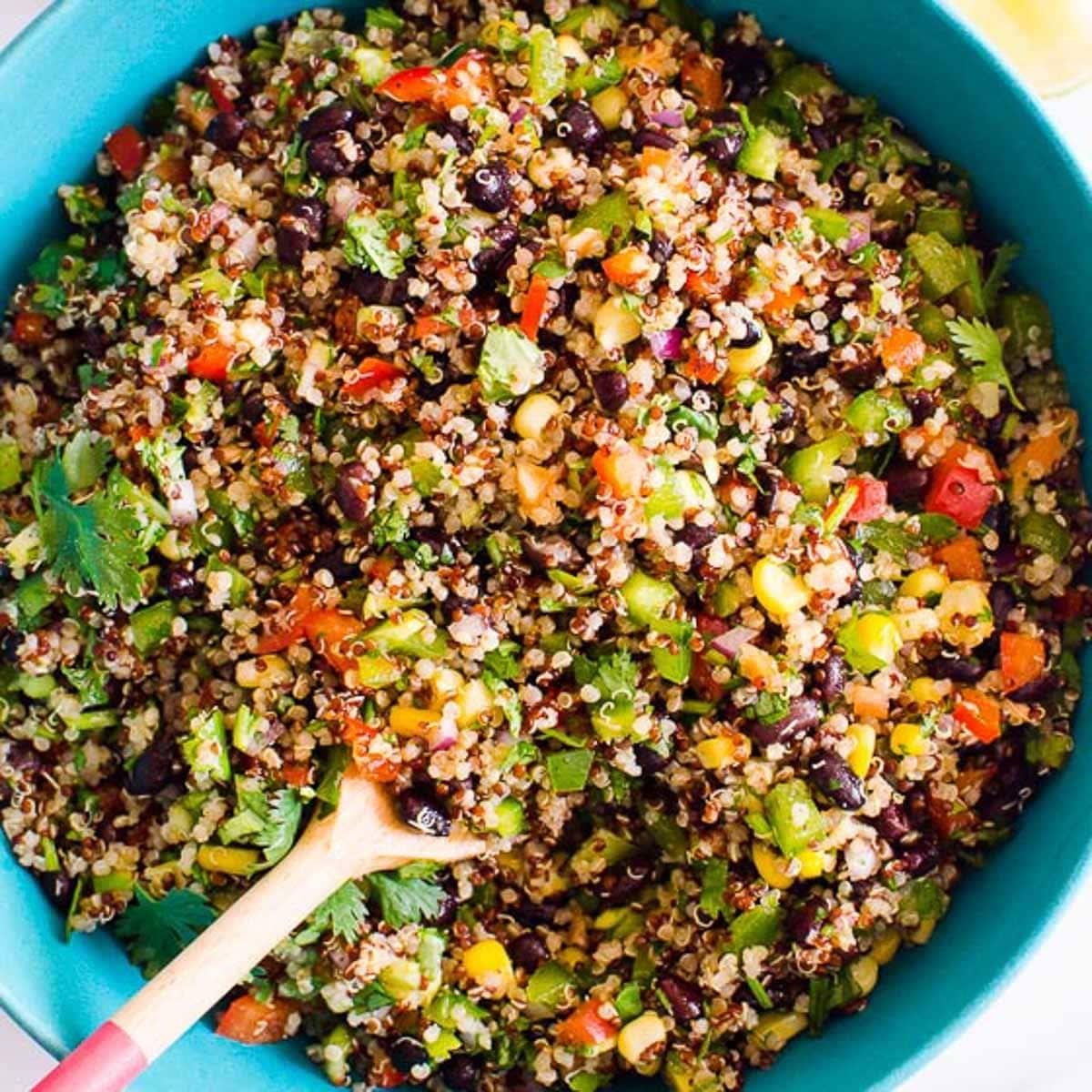 Southwest Quinoa Salad Ifoodreal Com