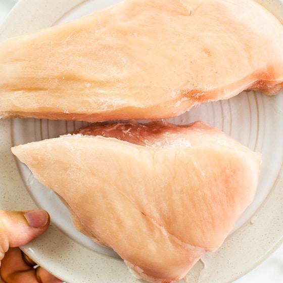 cook frozen chicken breast in instant pot
