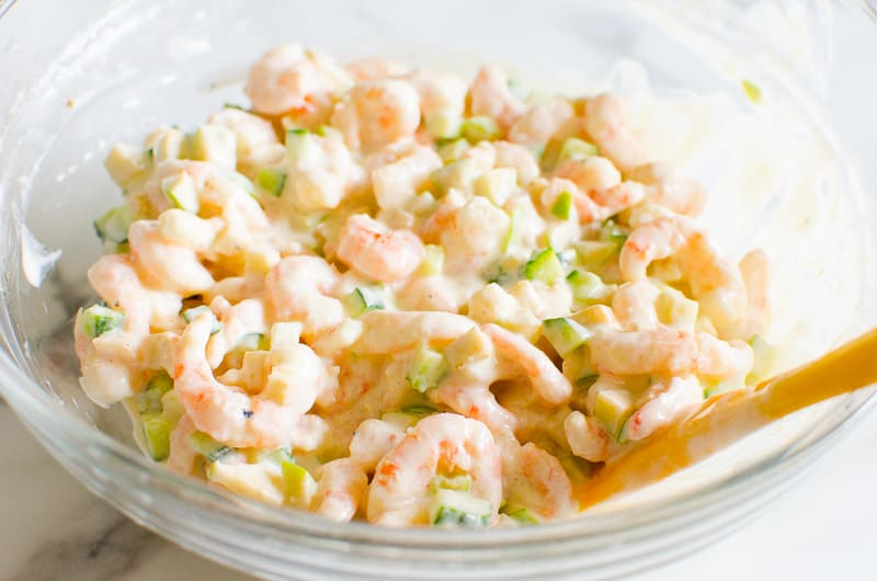 Healthy Shrimp Salad