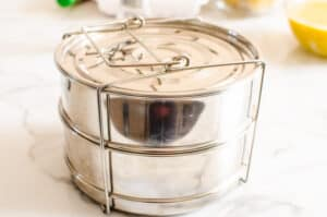 pans for cooking Instant Pot Meatloaf and Mashed Potatoes