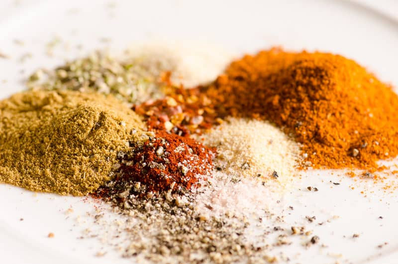 Homemade Taco Seasoning Recipe Ingredients