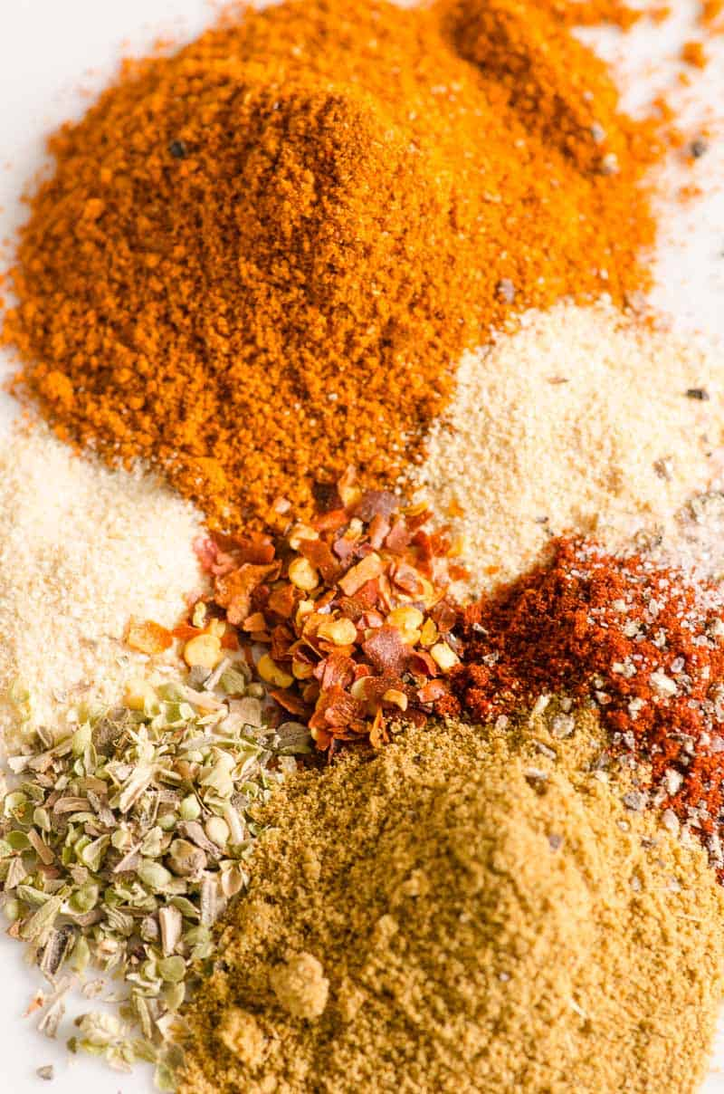 Taco Seasoning Recipe ingredients like spices