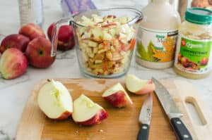 how to make Healthy Apple Bread