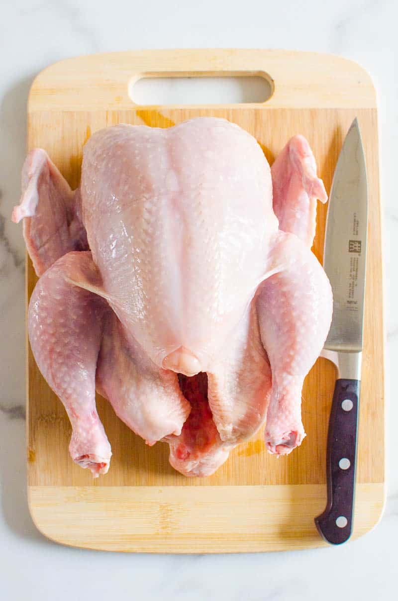 How to Cut a Whole Chicken