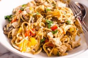 One Pot Turkey Tetrazzini Recipe