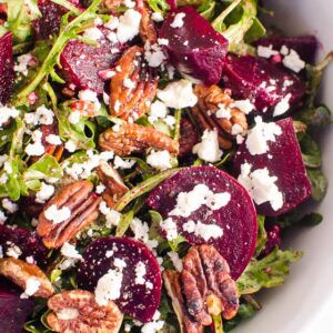 Beet Salad with Arugula and Feta