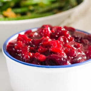 Healthy Cranberry Sauce