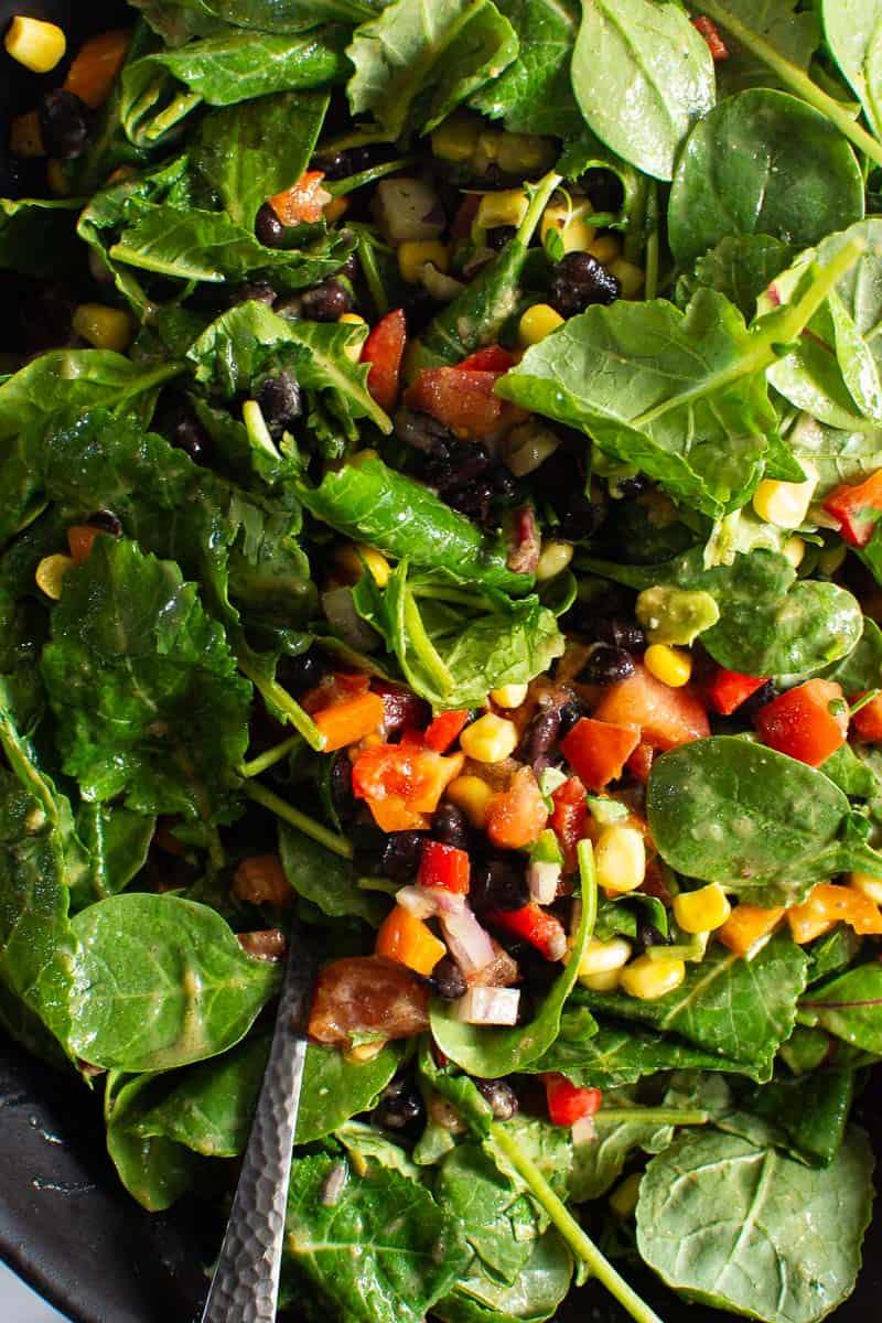mexican kale salad recipe