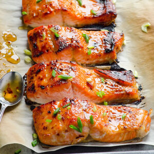 Thai Broiled Salmon