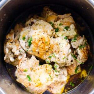 Instant Pot Chicken Thighs (Fresh or Frozen + Video)