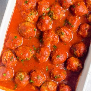 Instant Pot Meatballs (Video)
