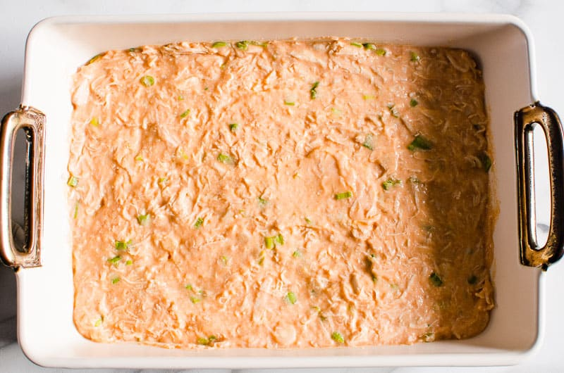 how to make Healthy Buffalo Chicken Dip step by step