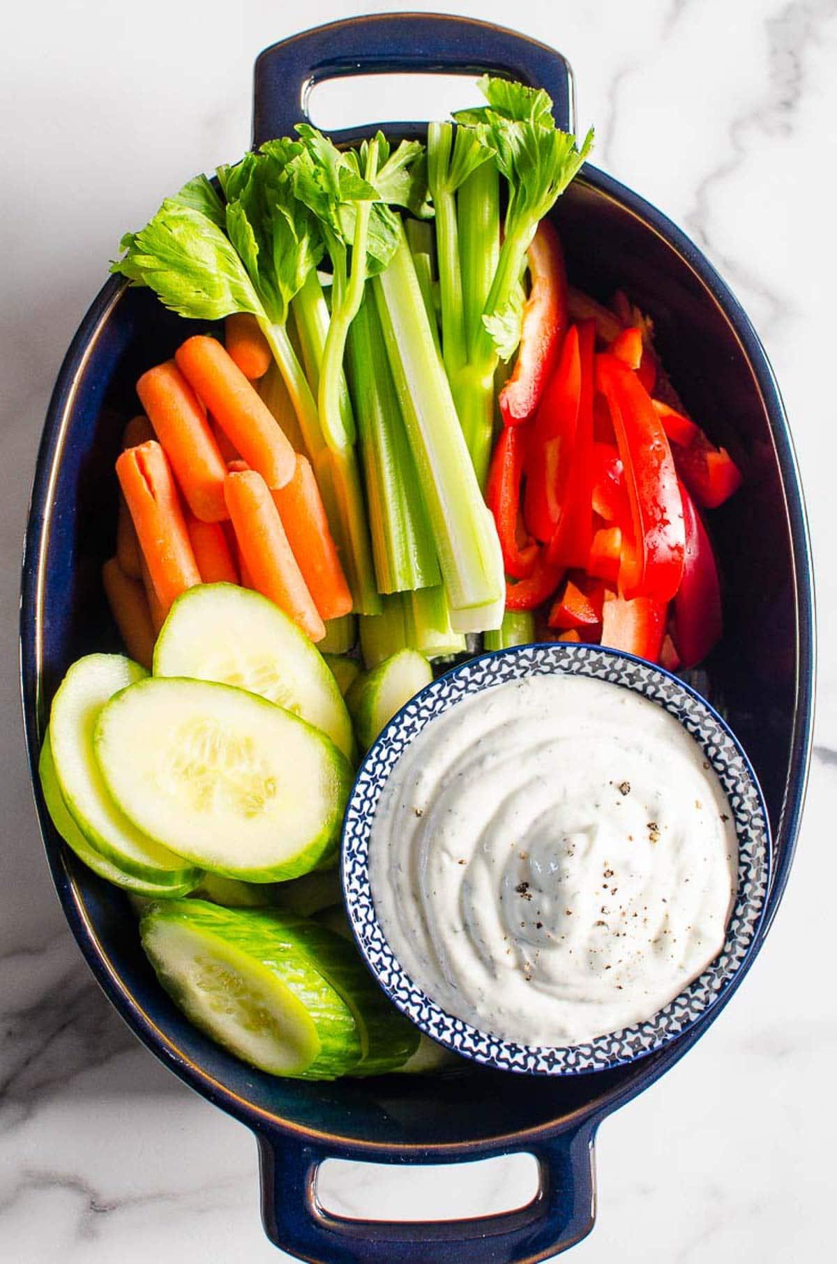 Healthy Veggie Dip