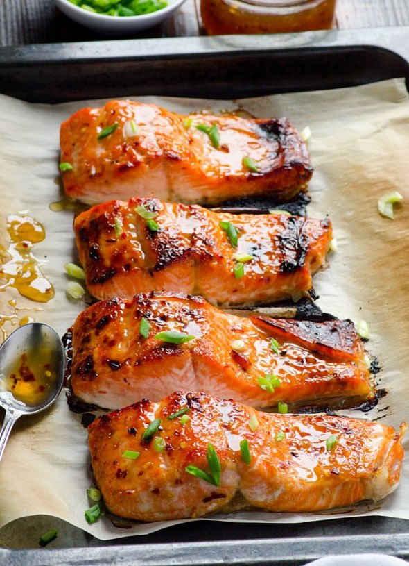 Thai Broiled Salmon Recipe