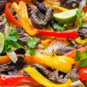 Steak Fajitas (Sheet Pan)