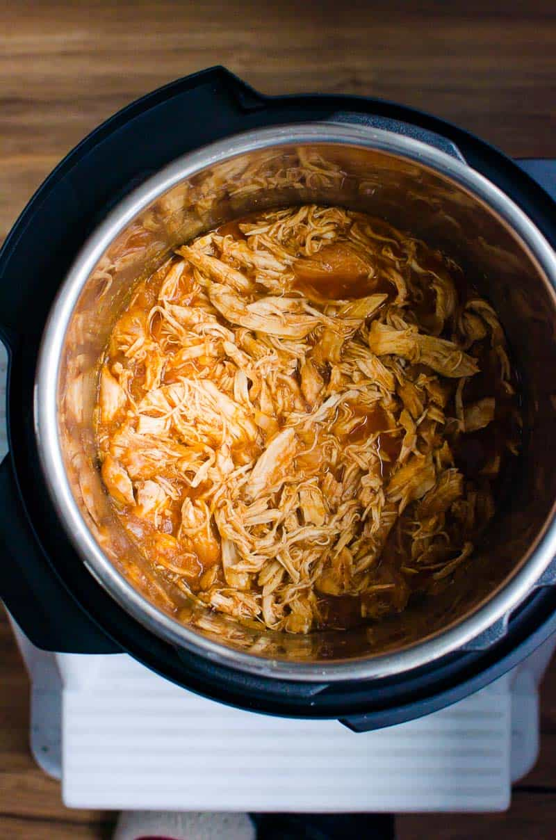 Instant Pot Pulled Chicken