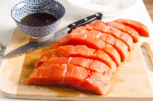 how to make Teriyaki Salmon step by step