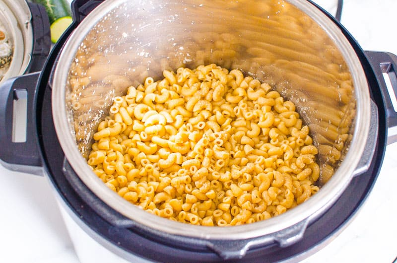 Instant Pot Mac and Cheese step by step